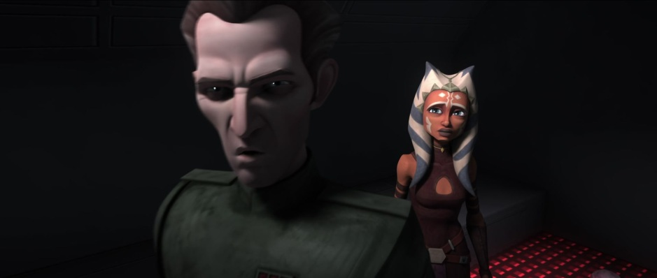 "Screencap from the Clone Wars episode, ""The Jedi Who Knew Too Much"". (image credit: Cap-That.Com)"