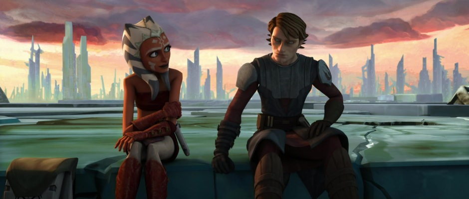 Still from the 2008 Star Wars: The Clone Wars film (Image credit: Cap-That.Com)