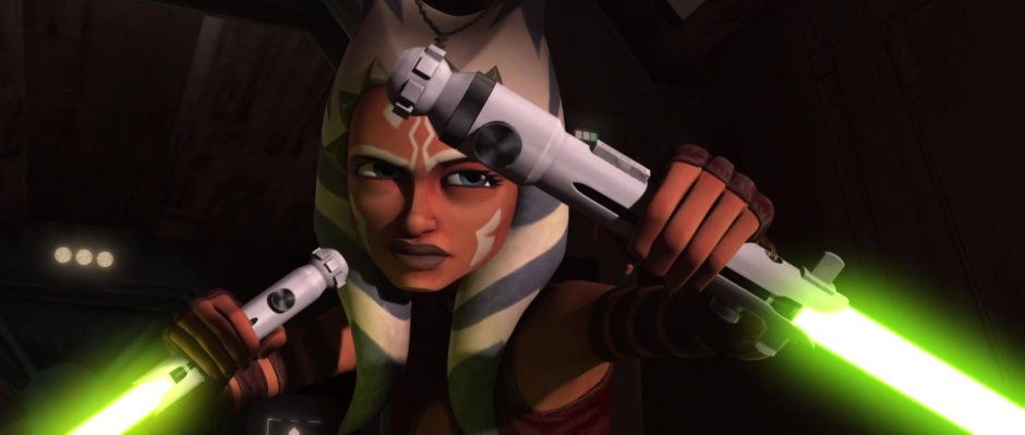 Screencap from the Clone Wars episode, 'Kidnapped' (Image credit: Cap-That.Com)
