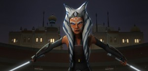 Ahsoka Tano as seen on Star Wars Rebels