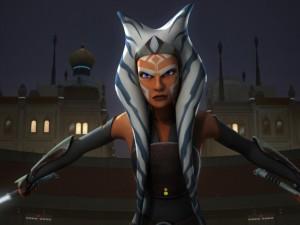 Ahsoka Tano as seen on Star Wars Rebels