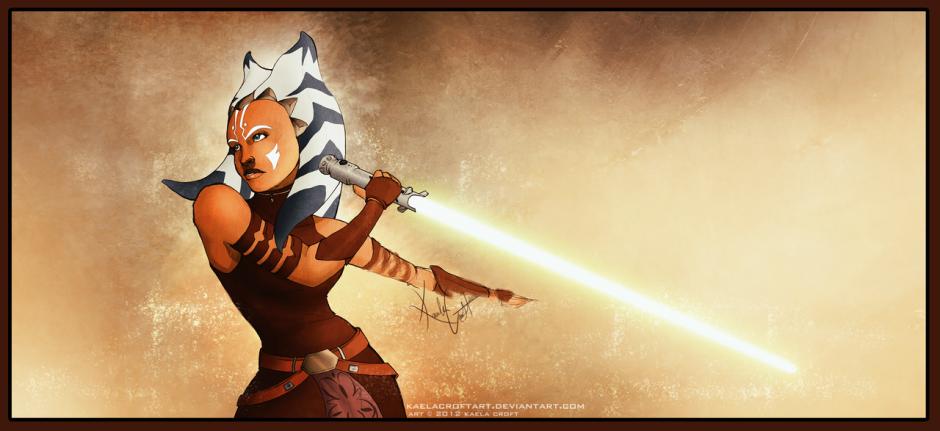 """Jedi Ahsoka Tano"" (Image credit: KaelaCroftArt)"