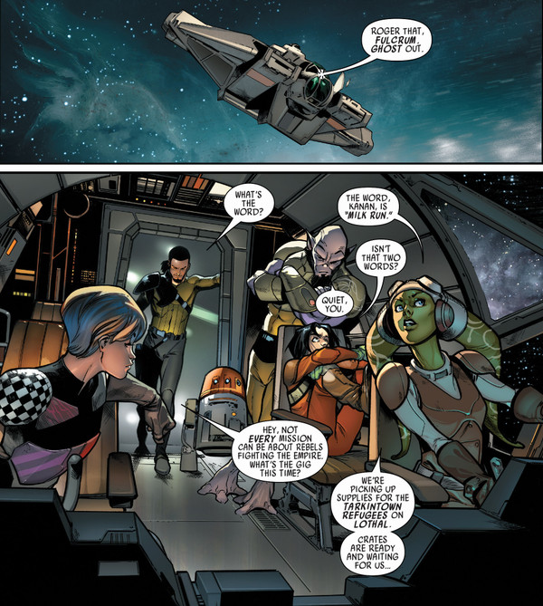 Taken from Kanan: The Last Padawan #1 (Image credit: Marvel Comics)