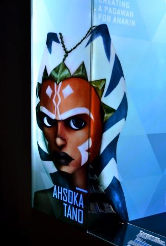 Ahsoka Tano display at Star Wars: Identities