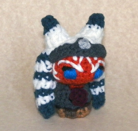 Ahsoka Tano amigurumi doll by DuaeDesigns
