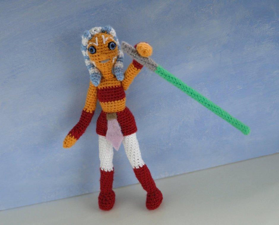 Ahsoka Tano amigurumi doll by tinyAlchemy
