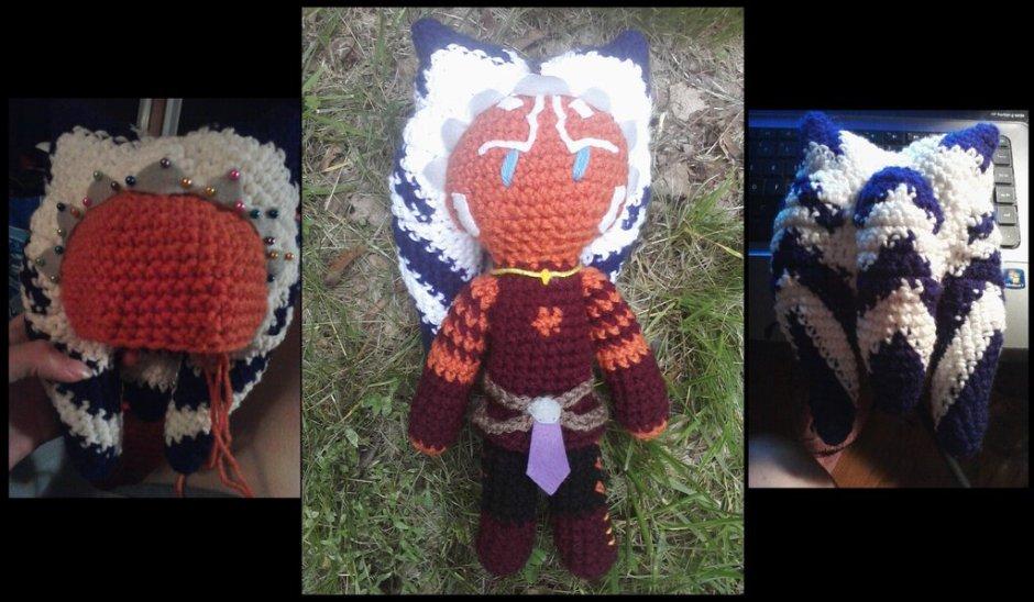 Ahsoka Tano crochet doll by TheCrochetDoctor