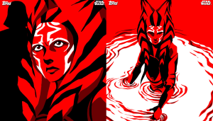 Dave Filoni's exclusive card series for Topps' Star Wars: Card Trader app