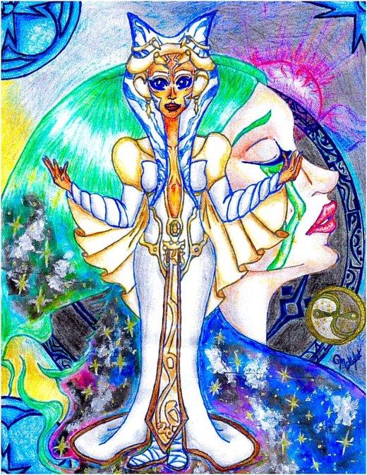 """Goddess Ahsoka"" (Image credit: Cyndermizuki)"