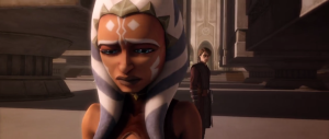 A pivotal life decision. E.K. Johnston explores what happened to Ahsoka following Order 66. (Image credit: Cap-That)