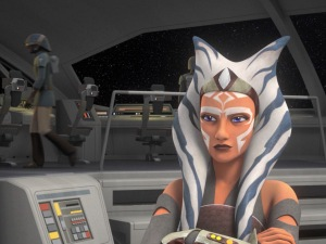 Ahsoka Tano, key member of the early Rebel Alliance. (Image credit: Cap-That)