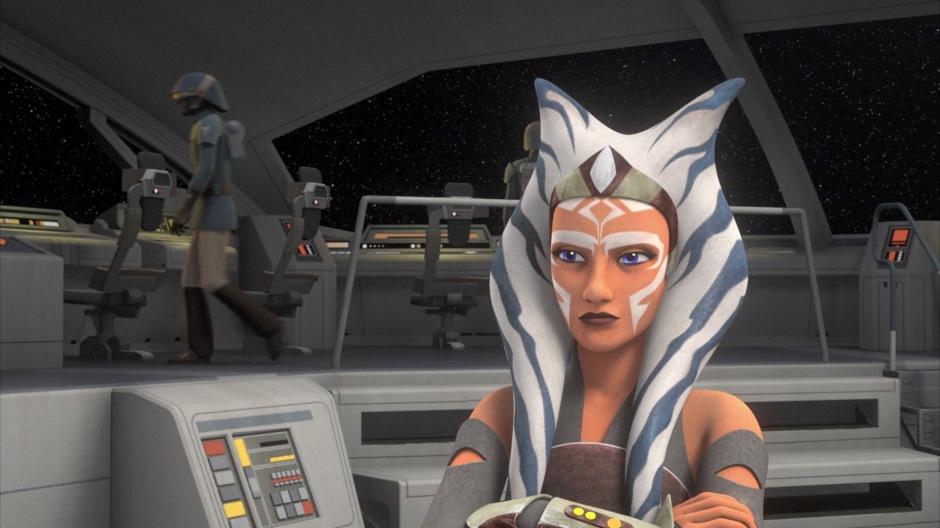 Ahsoka Tano, key member of the early Rebel Alliance. (Image credit: Cap-That)