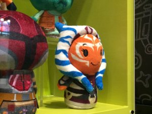Close-up of the Ahsoka Tano Itty Bitty plushie, courtesy of Johnamarie Macias