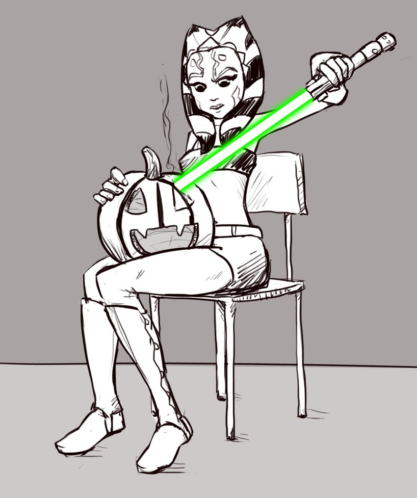 """Halloween Ahsoka"" (Image credit: Tourbillon-da)"