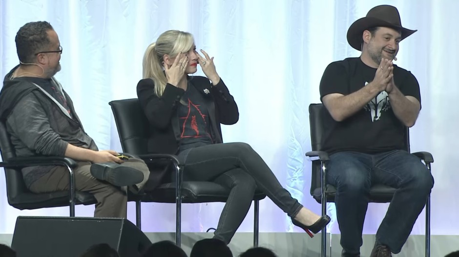 That moment when Dave Filoni reduced Ashley Eckstein to tears...