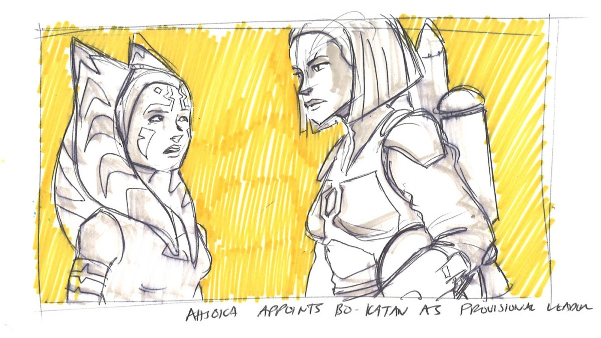 Ahsoka's Untold Tales – Part 4: Siege of Mandalore