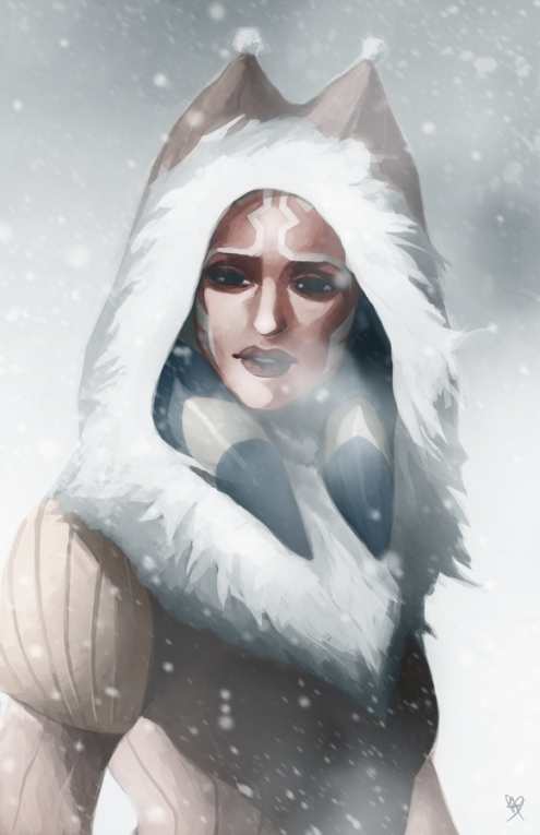 """Winter Ahsoka"" by Charles Tan"