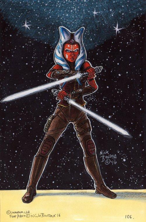 'Ahsoka Tano (Post-Clone Wars)' (Image credit: Phraggle)