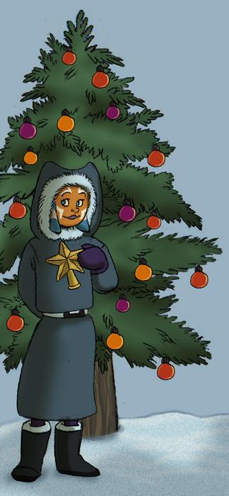 """""""Ahsoka and Christmas Tree"""" by Pile of Sith"""