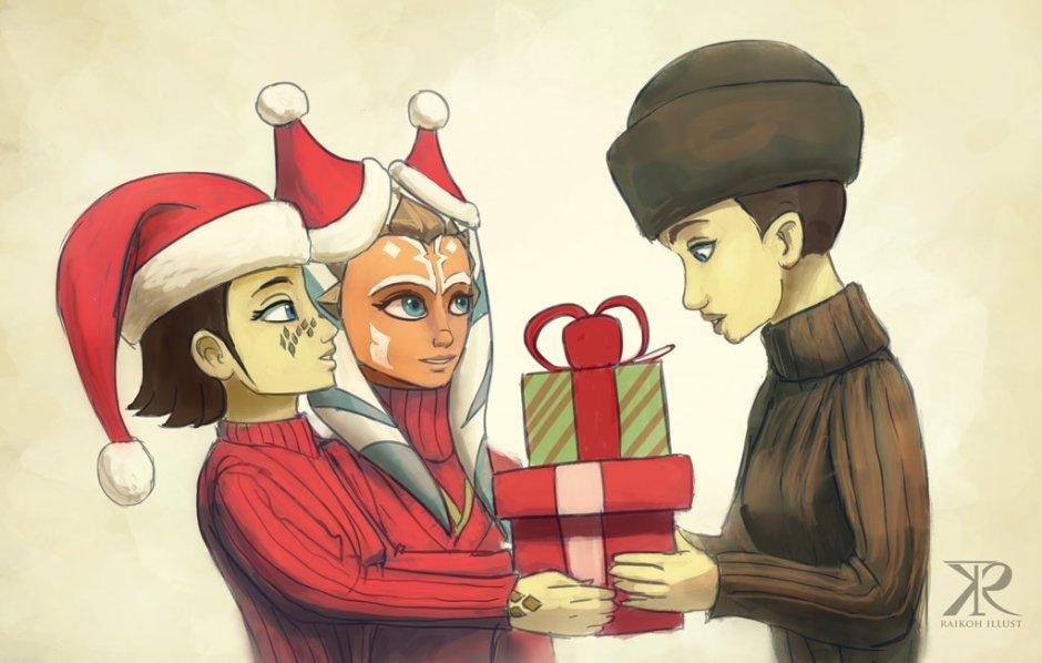 """Presents for the Teacher"" by Raikoh-illust"