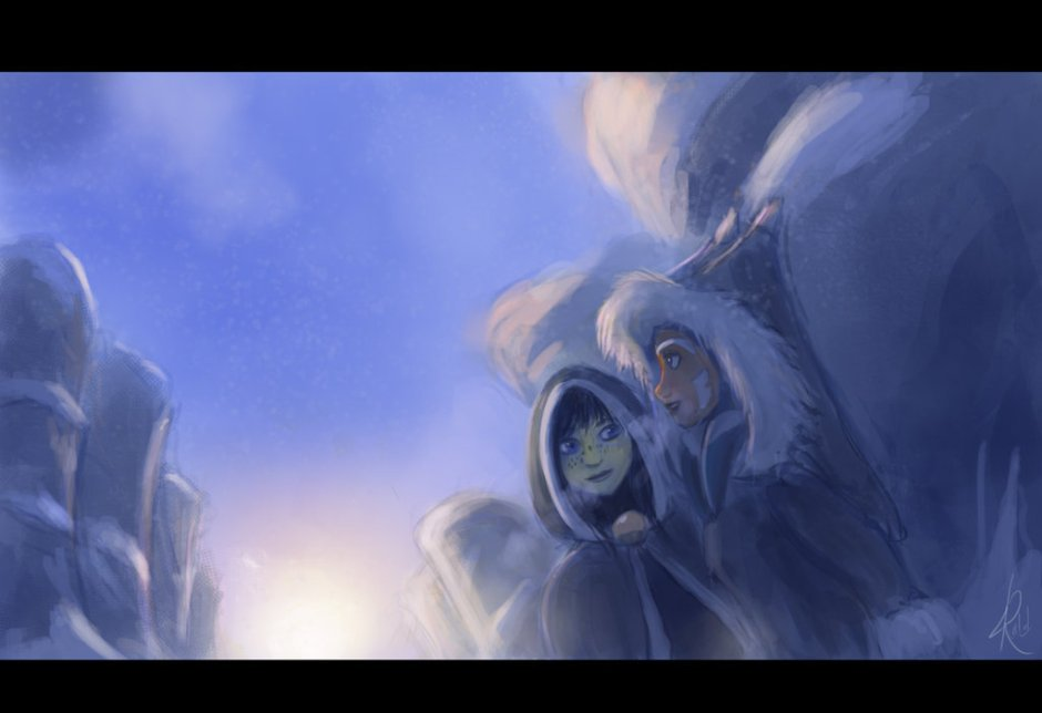 """""""Snow Wonder"""" by Raikoh-illust"""