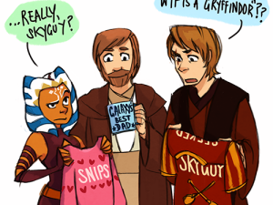 """Clone Wars Secret Santa"" by Shorelle"