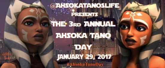 Ahsoka Tano Day 2017 (Image credit: @AhsokaTanosLife)