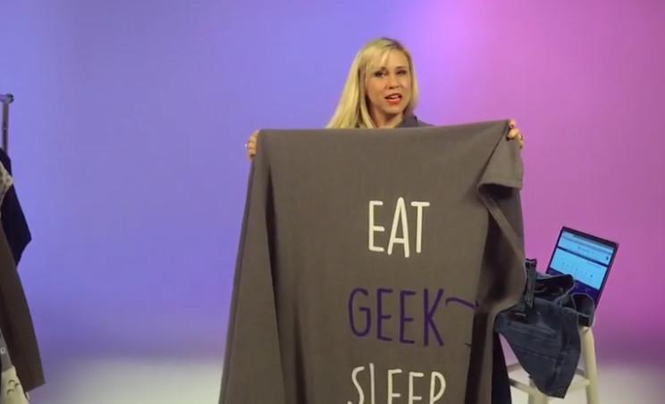 Her Universe's new geek blanket (Image credit: Her Universe)