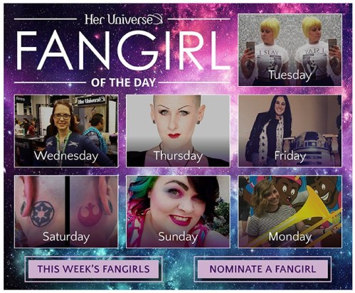 Fangirl of the Day (Image credit: Her Universe)