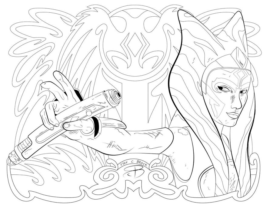 ryan-brock-ahsoka-tano-colouring-page-01