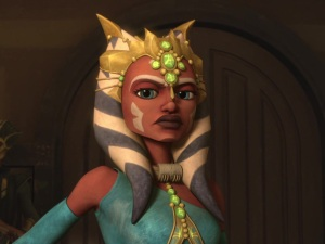 Ahsoka Tano in Zygerrian slave outfit
