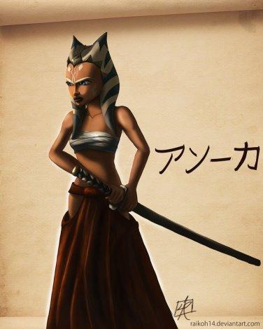 'Bushido Ahsoka' by Raikoh-illust