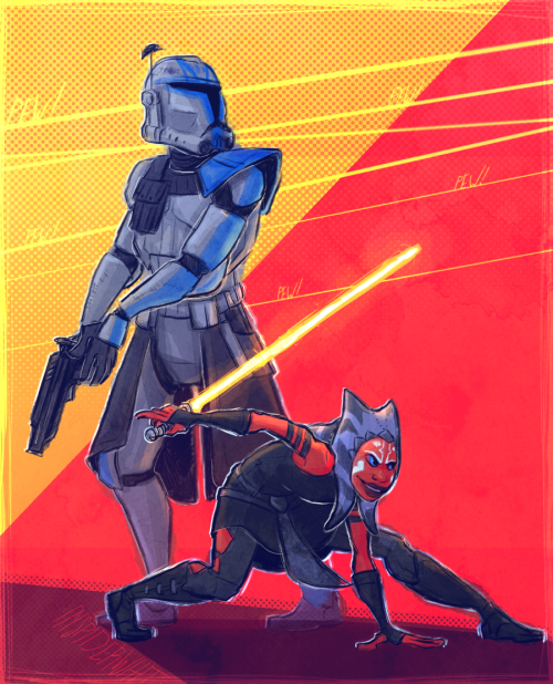 'Captain & Commander' by Spindlewit
