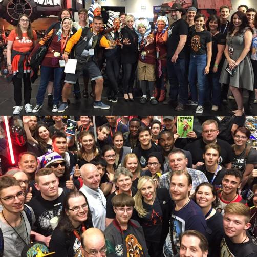 Ahsoka Lives Day 2016 at Star Wars Celebration London (Image credit: Ashley Eckstein)