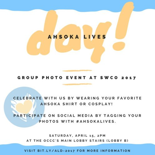 Ahsoka Lives Day 2017 (Image credit: Johnamarie Macias)