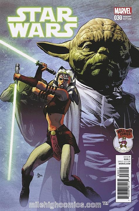 Star Wars #30 variant cover (Image credit: Mile High Comics)