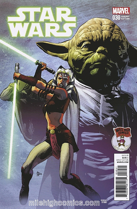 Star Wars #30 variant cover (Image credit: Mile High Comics)