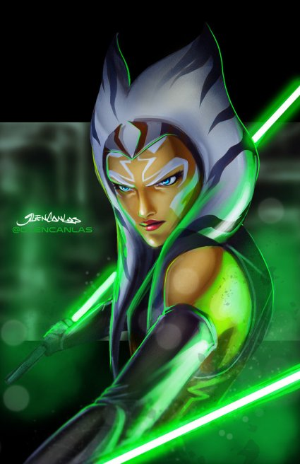 'Ahsoka Tano' by Glen Calas