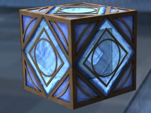 Screenshot of Jedi holocron (Image credit: Cap-That)