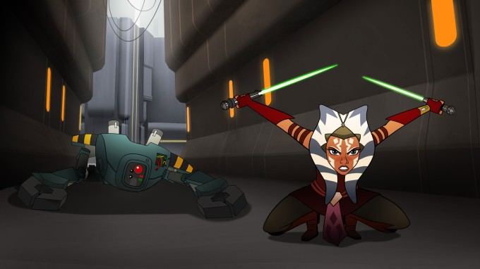 Ahsoka will be one of the stars of Star Wars: Forces of Destiny (Image credit: StarWars.Com)
