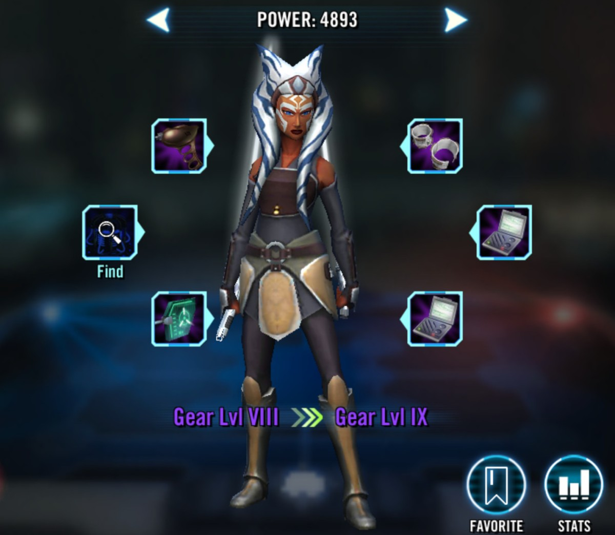 Ahsoka Tano (Fulcrum) Added to 'Star Wars: Galaxy of Heroes'