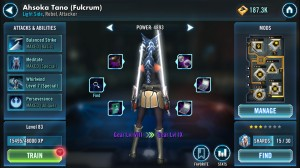 Ahsoka Tano (Fulcrum) in Star Wars: Galaxy of Heroes