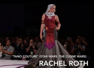 'Tano Couture' by Rachel Roth at the Her Universe Fashion Show 2017