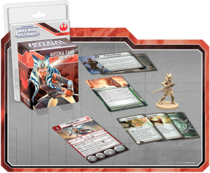 The Ahsoka Tano Ally Pack for Fantasy Flight Games board game, Star Wars: Imperial Assault