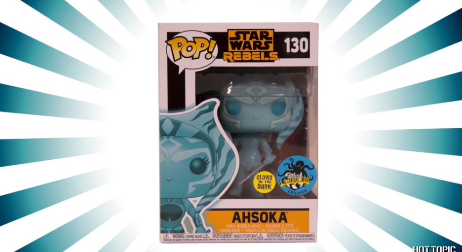 Holographic Ahsoka Funko Pop! figure