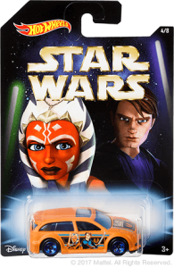 Mattel and Walmart's exclusive 'Master/Apprentice' Hot Wheels series - Anakin Skywalker & Ahsoka Tano 'Audacious' car