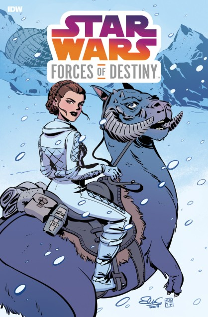 Star Wars Adventures: Forces of Destiny cover by Elsa Charretier