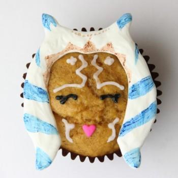 Jenn Fujikawa's recipe for Ahsoka pumpkin muffins