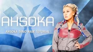 Her Universe's Ahsoka Tano hair tutorial