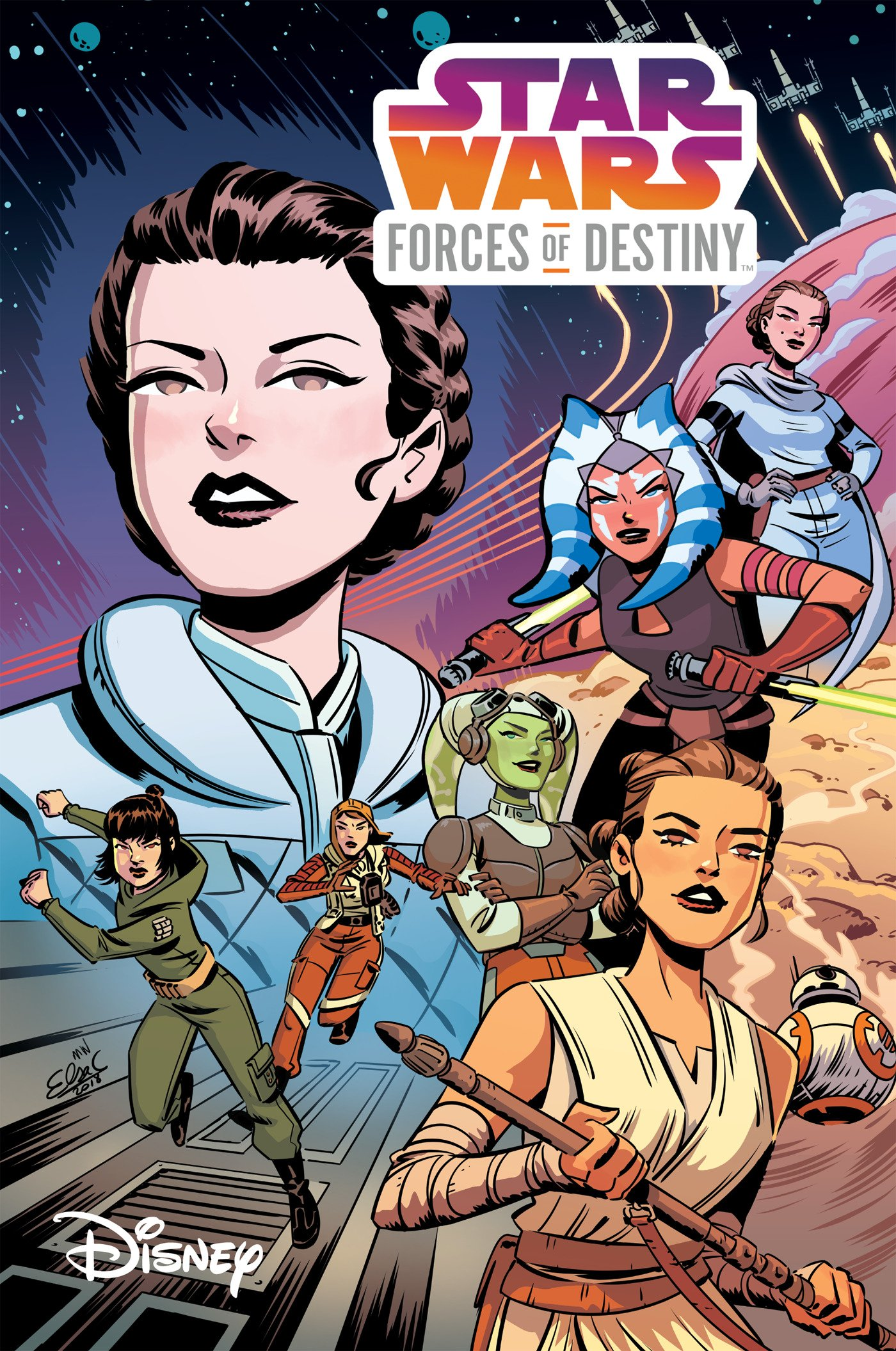 IDW Star Wars: Forces of Destiny trade paperback